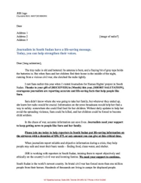 Appeal Letter For Fundraising Sle Letter What S In My Mailbox Free Template To Help You Raise