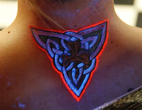 black tattoo glow in the tattoos designs ideas and meaning