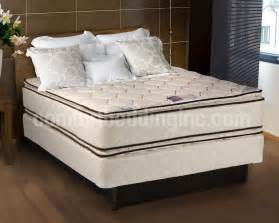 coil comfort pillow top mattress and box set