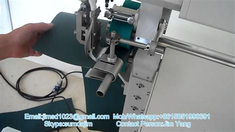 sd w200 automatic wedge welding machine for pvc fabric