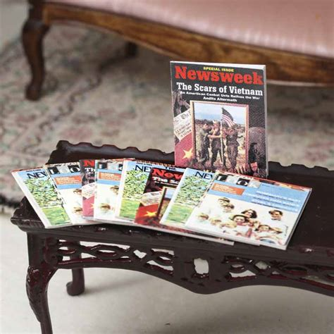 dollhouse supplies dollhouse miniature magazines living room miniatures