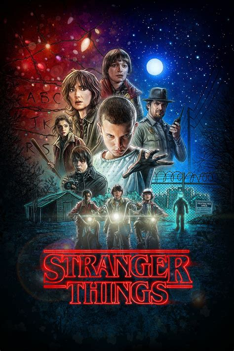 film seri stranger things stranger things tv series 2016 posters the movie