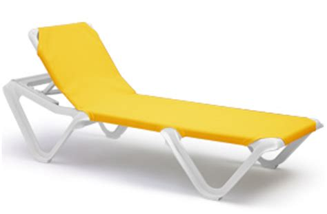 nautical sling chaise lounge pool furniture belson outdoors