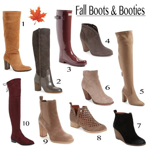 fall boots friday favorites the best fall boots and booties mrscasual