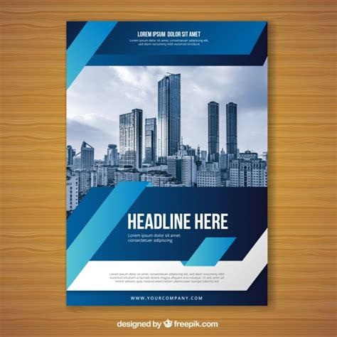 flyer template editor blue flyer design template vector free download