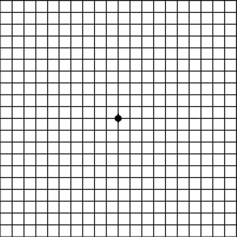 grid like amsler grid for macular degeneration self test