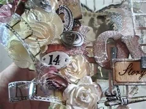 Discount Paper Crafts - shabby chic altered birdcage for discount paper crafts