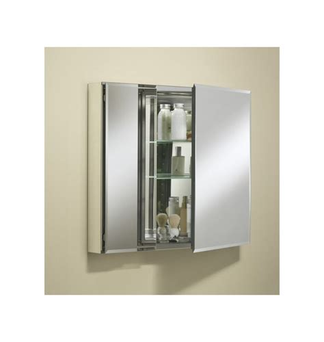 Medicine Cabinet Door Hinges Kohler K Cb Clc3026fs Silver Aluminum 30 Quot X 26 Quot Door Reversible Hinge Frameless Mirrored