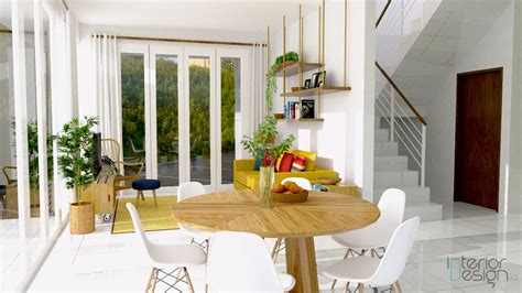 jasa design interior bandung ruang makan ruang tv kota baru parahyangan