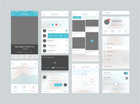 design mobile app ui mobile user interface design sendinthefox mobile