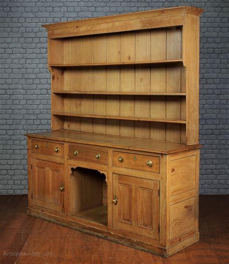 large pine kitchen dresser c 1860 antiques atlas