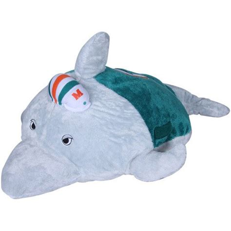 Mini Dolphin Pillow Pet by Nfl Miami Dolphins Pillow Pet New Ebay