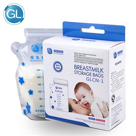 aliexpress buy 40 pieces gl breast milk storage bag
