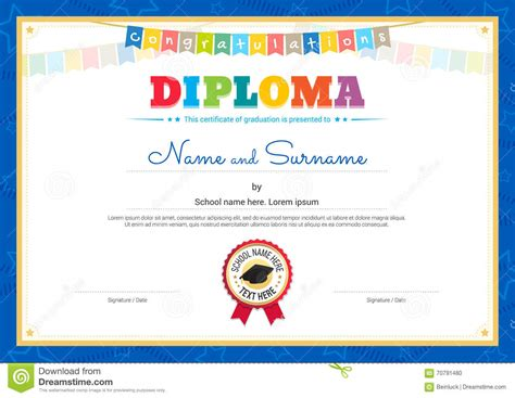 Format For Resume For Job by Preschool Award Certificates All Templates Deal