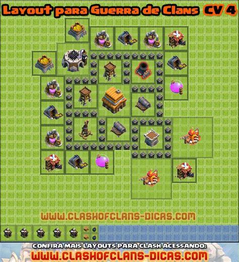 layout cv guerra 6 o jogador layouts cv 4 para guerra
