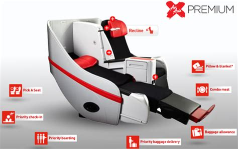 airasia x flatbed airasia x becomes first lcc to offer flatbed seats civil