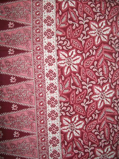 Jual Bahan Kain Printing jual kain batik cirebon printing bahan katun halus k033