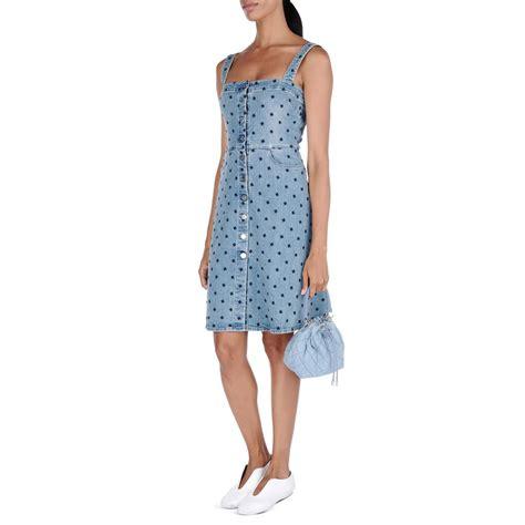 Stella Mccartney Care by Classic Blue Dress Stella Mccartney