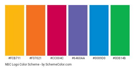 logo color schemes nbc logo color scheme 187 blue 187 schemecolor
