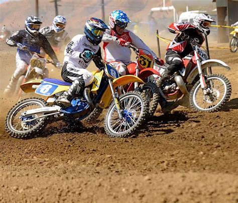 vintage motocross races calvmx s vintage motocross race at perris