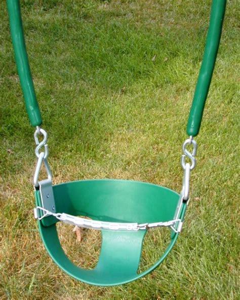 half bucket toddler swing swingsetaccessories com website