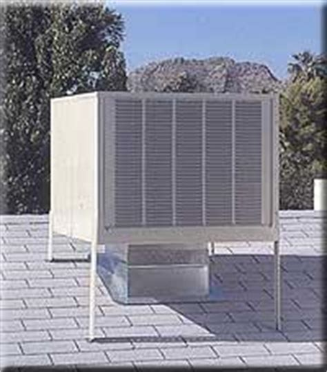 cost to install evaporative cooler on roof sw cooler or conventional air conditioning pros and cons