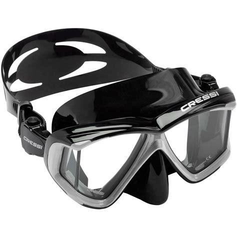 cressi dive mask buy cressi panoramic 4 window dive mask from cressi for