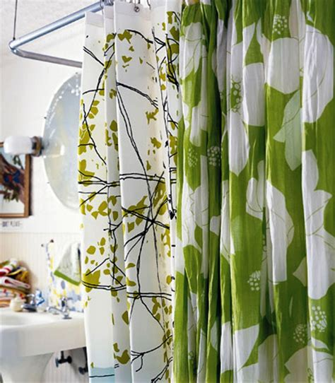 duschvorhang design 15 bathroom shower curtain ideas home and