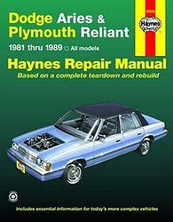 chilton car manuals free download 1989 plymouth laser regenerative braking service manual how plymouth reliant revues techniques haynes et chilton 11