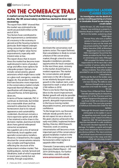 mytradetv glazing digital magazine february 2015