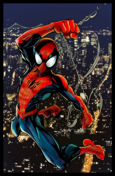 mark bagley ultspidey51cover by kriss777 on deviantart