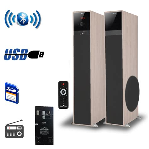 befree sound   channel bluetooth tower