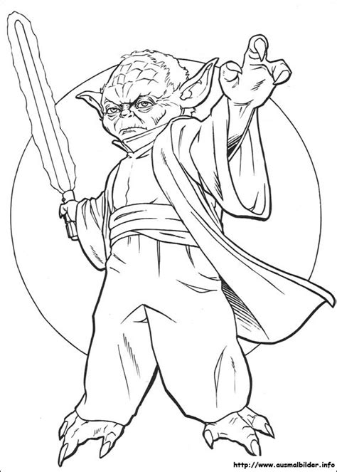 coloring page yoda free star wars yoda coloring pages