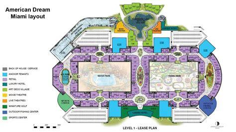 florida mall floor plan american dream miami mega mall unveils floor plan sun
