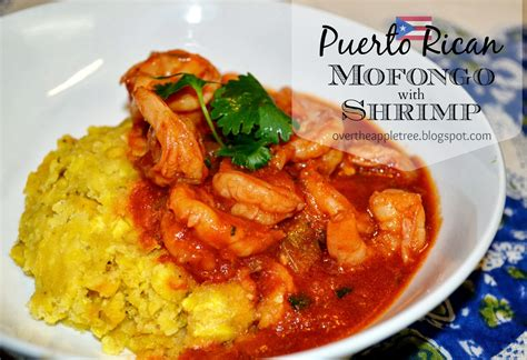 over the apple tree mofongo with shrimp