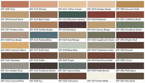 colonial paint colors