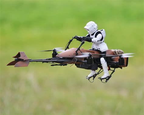 Drone Quadcopter fpv wars speeder bike quadcopter make