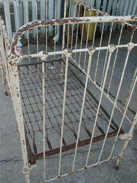 antique iron baby cribs images wah