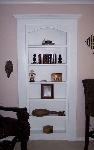 shelf to hide a door where i create