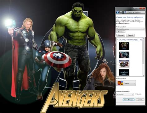 download theme windows 7 avengers the avengers windows 7 theme download