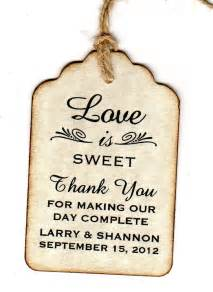 wedding favor cards 25 best ideas about wedding favor tags on