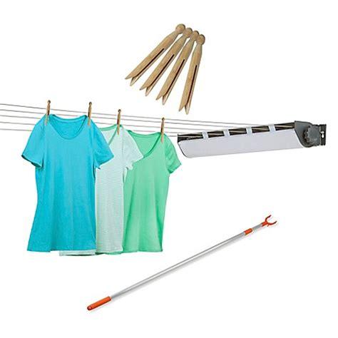 bathtub clothesline honey can do 174 5 line retractable outdoor clothes dryer