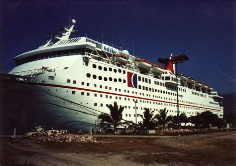 old boat lines the old carnival jubilee cruise ship to be scrapped