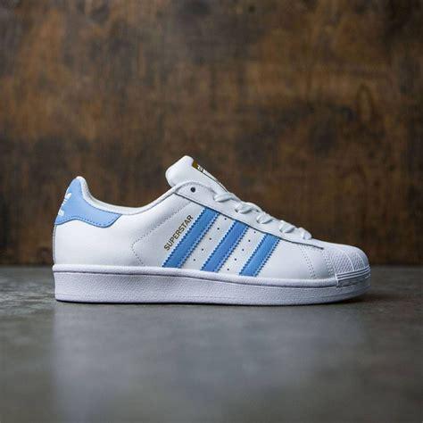 adidas light white adidas superstar w white light blue gold metallic
