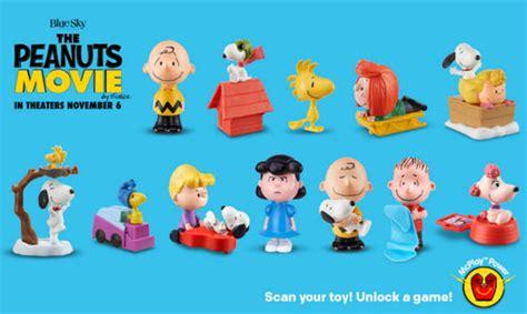 Happy Meal Snoopy Peanut Periode I mcdonalds peanuts thailand happymeal mctoys