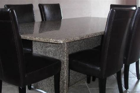 Black Granite Top Dining Table Black Granite Dining Table China Mainland Dining Tables