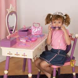 Children S Play Vanity Table Always A Princess Vanity Table And Chair And Luxury Kid