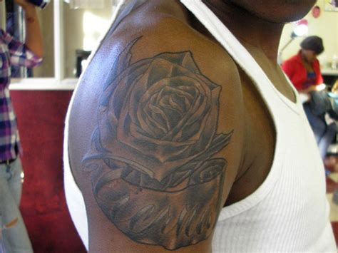 black men inked black people tattoos