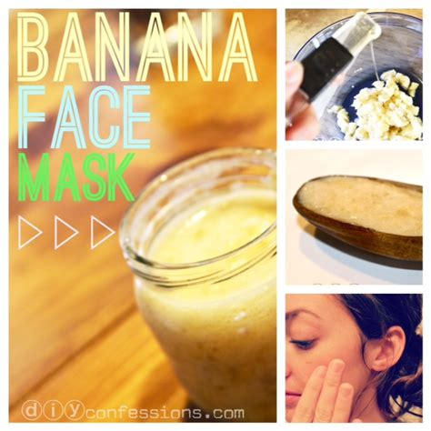 diy banana mask how to make a banana mask