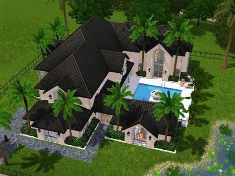 sims 3 6 bedroom house mod the sims malibu manor